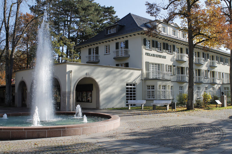 Fontäne am Haus des Gastes_Foto_Kurverwaltung Bad Mergentheim