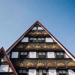 Hauswand in der historischen Altstadt (c) Bad Salzuflen