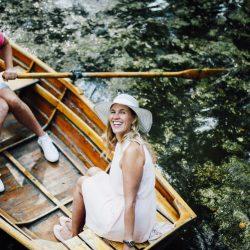 Paar im Boot auf dem Kurparksee (c) Bad Salzuflen