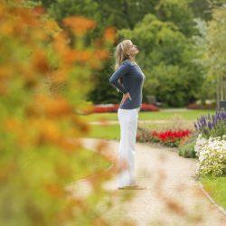 Der direkt an der Ilmeau gelegene Kurpark von Bad Bevensen lädt zu Spaziergängen und zum Entspannen ein.
