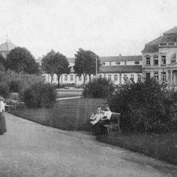 Alter Kurpark zwischen Kurmittelhaus und Gradierwerk_Bad Rothenfelde